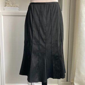 VEX COLLECTION FIT AND FLARE BLACK SKIRT SZ 36EU